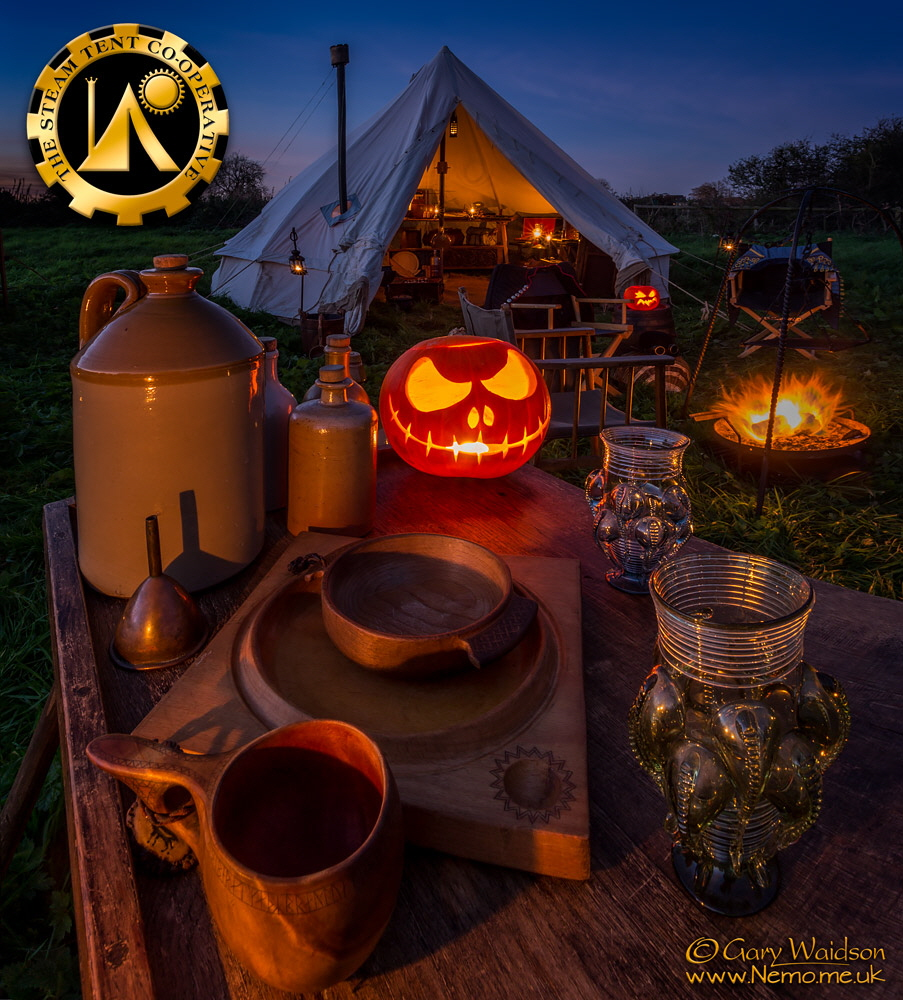 The Steam Tent Co-operative - Steampumpkin -